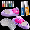 Nail Art Printer DIY Pattern Printing Manicure Machine Stamp Stamper Set