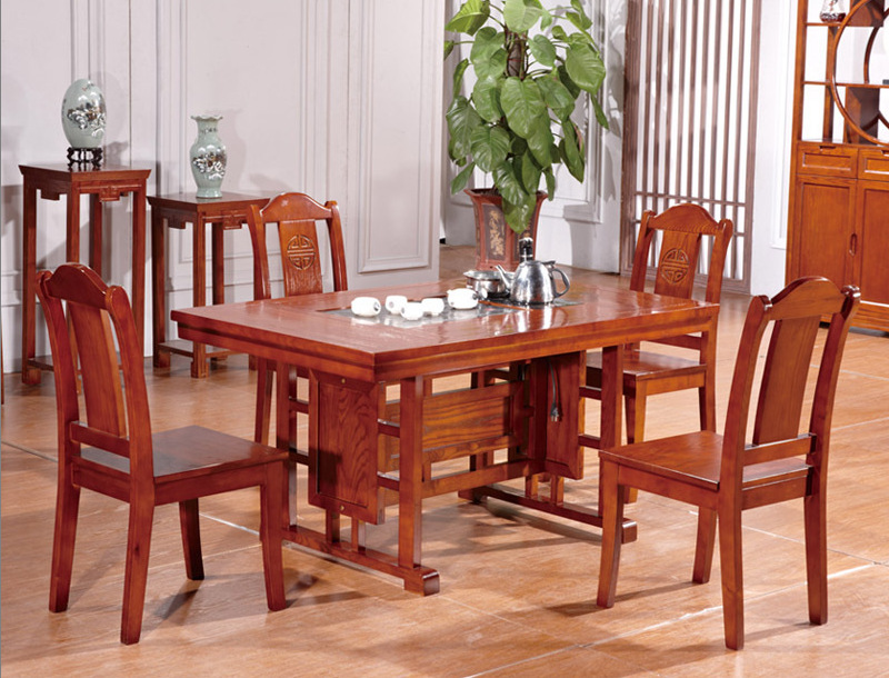 Newest Wholesale China Classic Style Dining Room Sets Furniture Table And  Chairs L502(China)