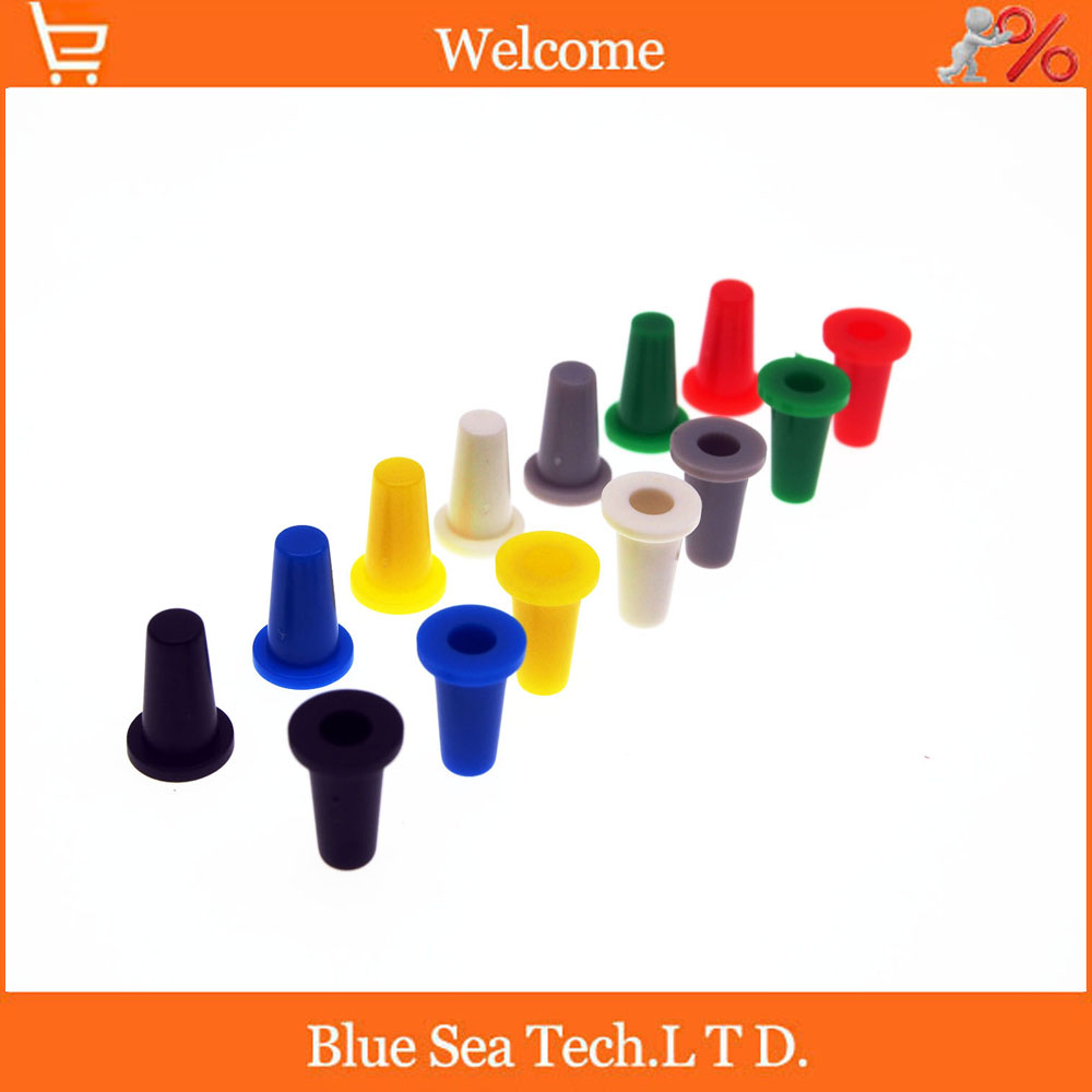 Sample,20pcs Tactile Push Button Switch Momentary Tact Cap 6*6mm Micro switch button,7 colors ...