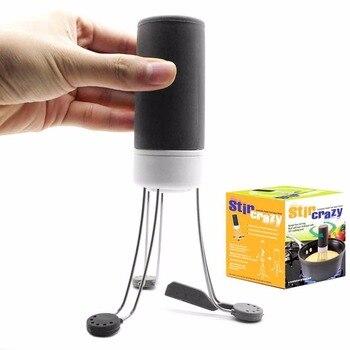 3 prędkości biegów automatyczne Stir Crazy kij mieszalnik ręce automatyczne darmowe narzędzie kuchnia jedzenie Auto mieszadło Blender narzędzia kuchenne