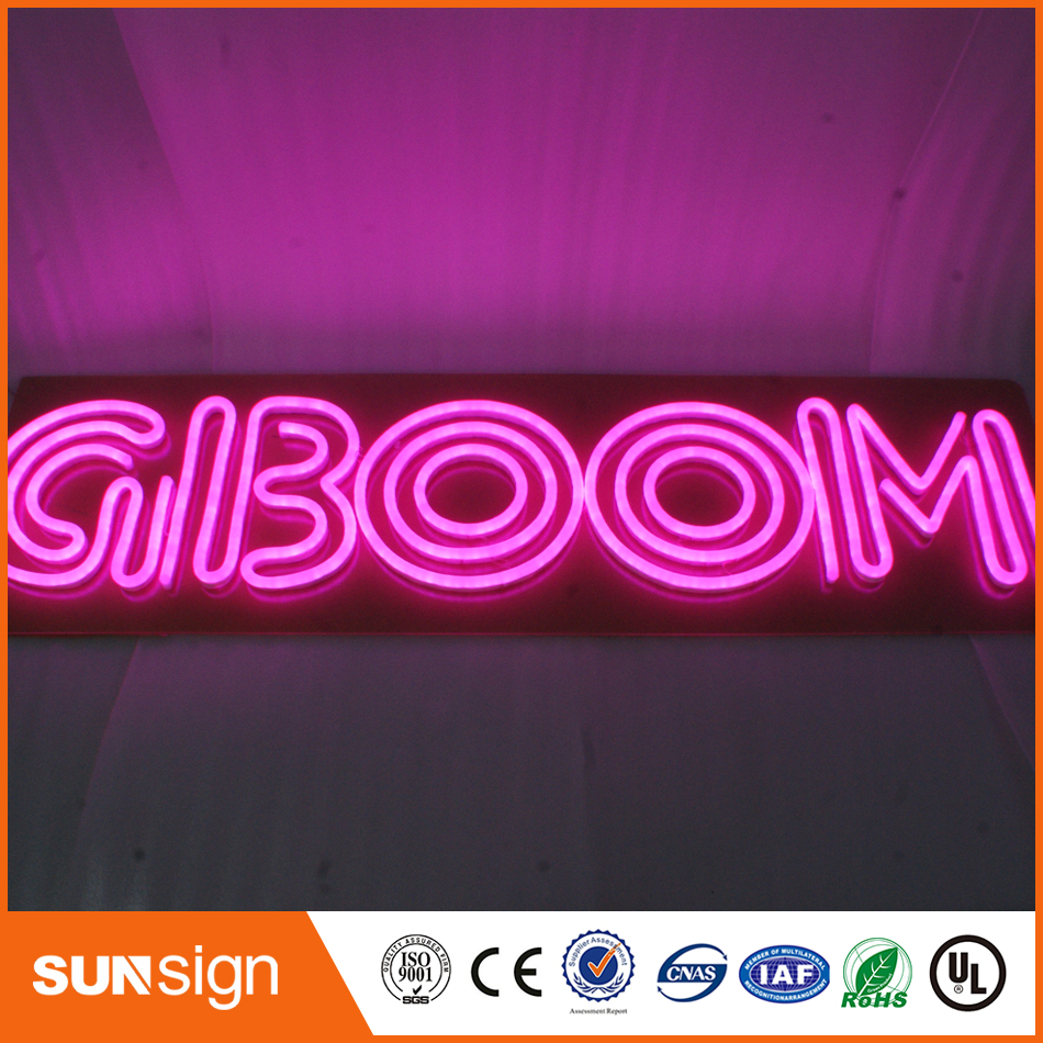 Factory acrylic board Sign customized neon flex letter sign with ...