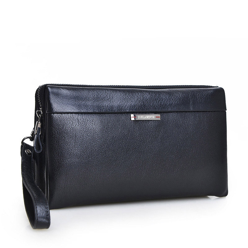Genuine Leather Business wallet Casual Clutch Coin pocket quality wallet soft skin portfolio Mobile purse phone Passport bag new kenneth cole new york womens leather clutch wallet w iphone smart phone pocket