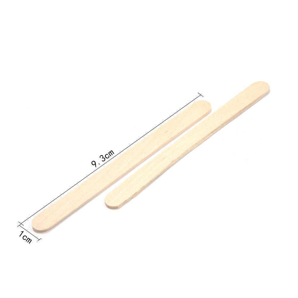 50 шт./партия цветные деревянные палочки для мороженого из натурального дерева палочки для мороженого Дети DIY ручной работы мороженое, конфета на палочке Инструменты для торта - Цвет: B