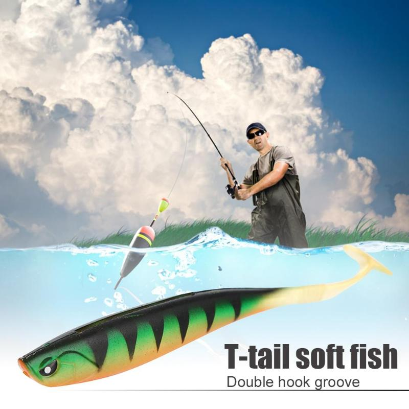 12.5cm10g Silicone Lures Fishing Lures Artificial soft Fishing Baits Cannibal Fishing Fish Soft Lures Fishing Gear