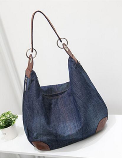 KUJING qualité sac à main rétro denim résistant à l'usure - Des sacs - Photo 6