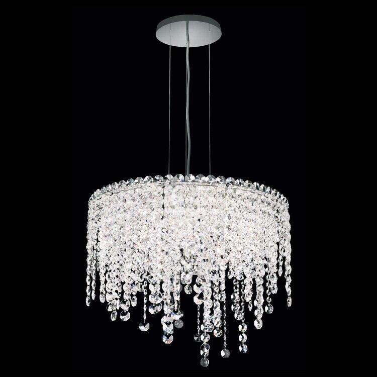 Phube Lighting Modern K9 Crystal Pendant Light Chrome Crystal pendant Light Lighting  Guaranteed 100%+Free shipping!