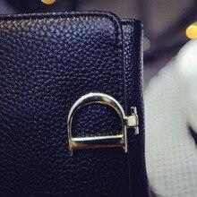 2016 charme in hand Kurze Frauen Geldbörse Neue Brief Weibliche Geldbörse damen Geldbörse Berühmte Marken damen Geldbörse Leder geldbörse Design