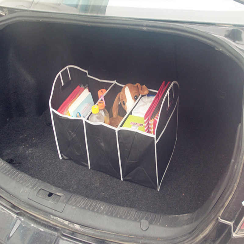 Collapsible Car Trunk Organizer high capacity Car storage box Container Car folding cartons Trunk pouch Toolbox