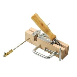 Image 3 - Gran oferta, nuevo equipo cuadro apicultura, máquina perforadora de ojales para peines y marcos de abejas, herramienta de Apicultura