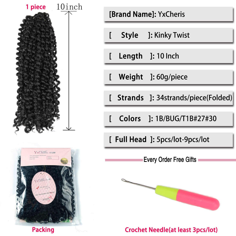 12 ''бразильский Джерри локон волосы на Трессах синтетические плетеные волосы с кроше с Омбре косы для наращивания волос объемные волосы из канекалона