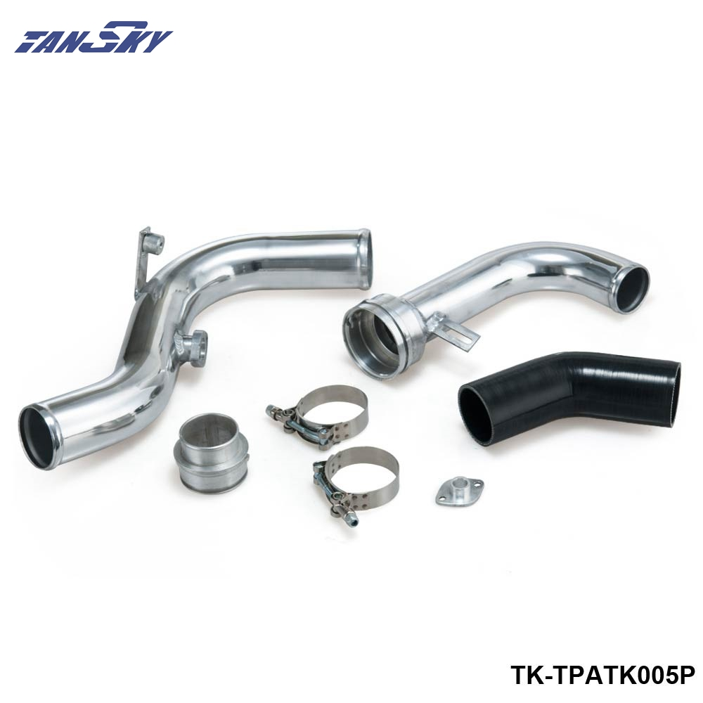 Upgraded Aluminium Boost Pipes 2.0TSI For VW Jetta V For Golf V/VI Turbo Piping Kits TK-TPATK005P