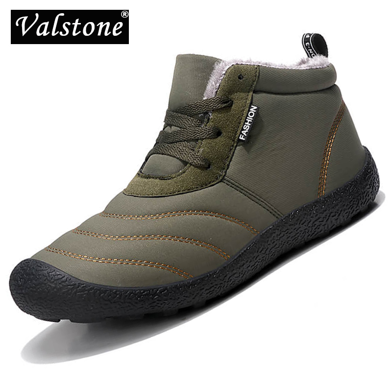 Valstone Shoes Ankle-Boot Winter Sneakers Winer Outdoor Walking Breathable Warm 48 Plush