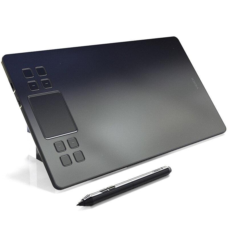 VEIKK A50 8192 Niveaux Tablettes Graphiques Planche à Dessin Stylo Signature Graphique Professionnelle Dessin Stylo Tablettes