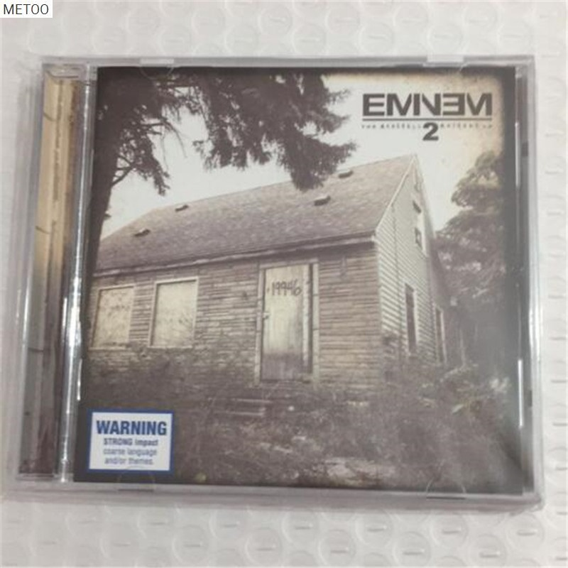 Metoo - Eminem - The Marshall Mathers Album Cd Box [free Shipping] New Possessing Chinese Flavors