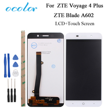 """ocolor 5"""" For ZTE Voyage 4 Plus Blade A602 LCD Display and Touch Screen 100% Good Screen Digitizer Assembly With Tools+Adhesive"""