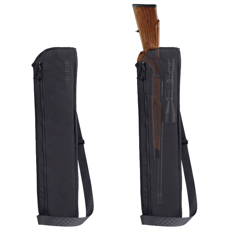OneTigris Tatical Rifle Shotgun Scabbard 29inch Molle Shotgun Case w Shoulder Sling Remington 870 Mossberg and