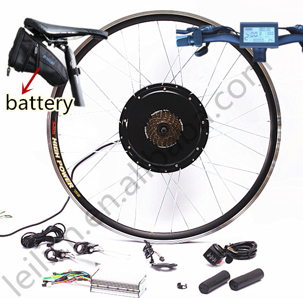 Electric Bicycle Motor Kit With Battery In India: All In One Kit, 50kph Speed 48v 1000w Electric Bicycle