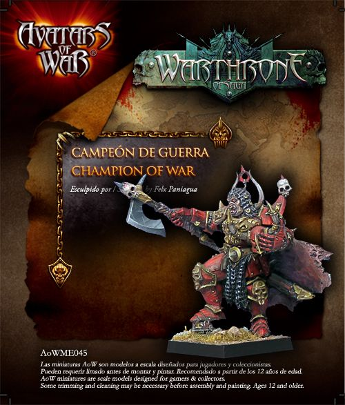 Chaos War Lord 28mm