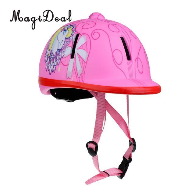 Children Adjustable Horse Riding Helmet Protective Gear For Equestrian Activity 3