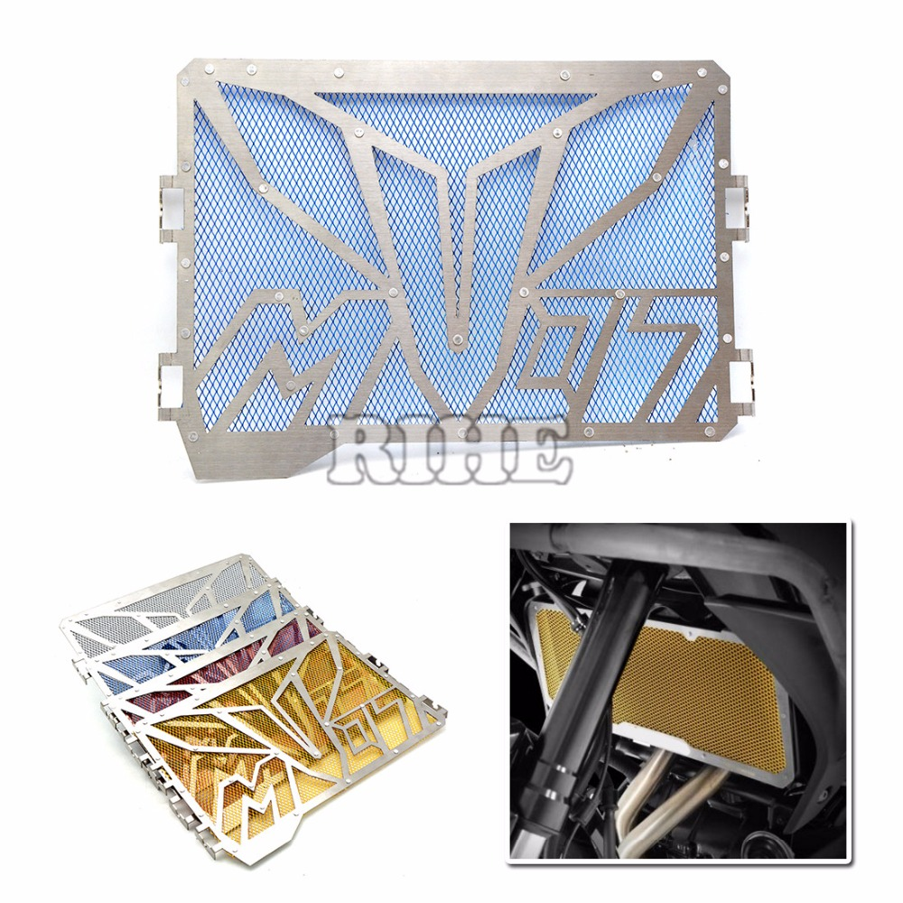 Motorcycle Radiator Grille Cover radiator guard protector grille cover For Yamaha MT 07 MT-07 FZ 07 FZ-07 2013-2016 2014 2015 new hot for yamaha mt07 mt 07 2013 2014 2015 motorcycle accessories gold motorbike radiator side grille guard cover protector
