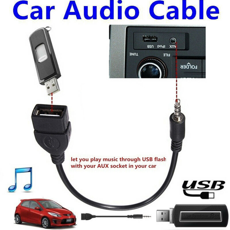 3.5mm Car Auto Jack Aux Input Audio Cable Adapter For Blaupunkt RADIO IPOD MP3 !