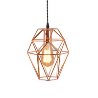Modern Pendant Light gold Iron Hanging Cage Vintage Led Lamp Bulb E27 Industrial Loft Retro Dining Room Restaurant Bar Counter