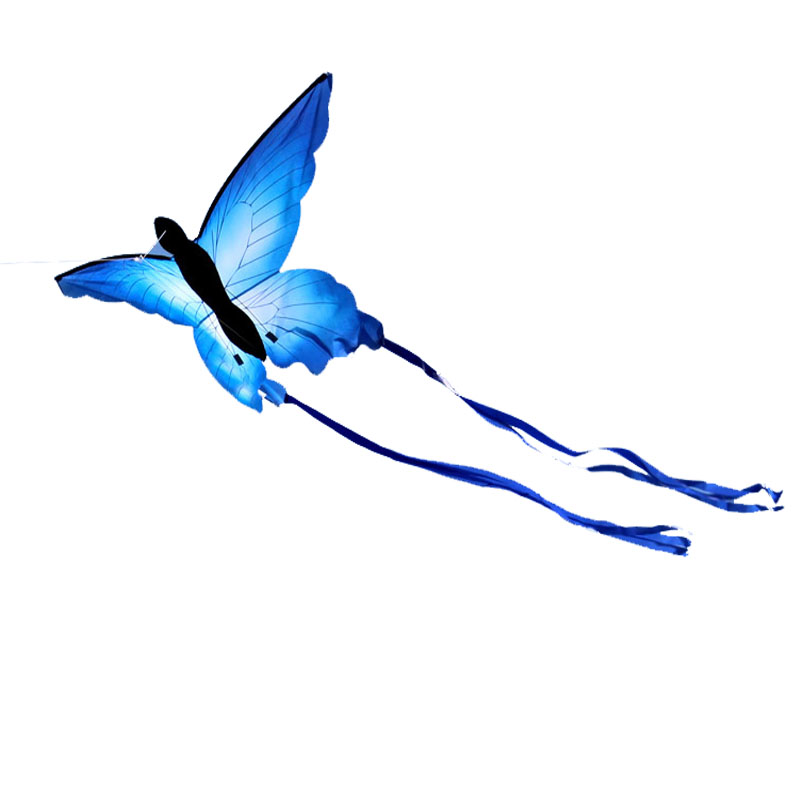 În aer liber Distracție Sport Nou Venit Butterfly Kite / Zmee Animale Cu Handle & Line Bine Flying Gift