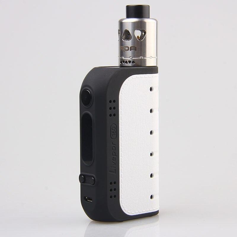 100% Original Yosta Livepor 160w RDA Kit Electronic Cigarette 160w Livepor box mod and IGVI RDA TANK Vape Kit philips fc 8474