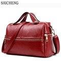 SAICHENG Brand Women Bag High Quality pu Leather Women's Handbags Women Messenger Bags 2017 New Big Bag Laies Hand Sac A Main