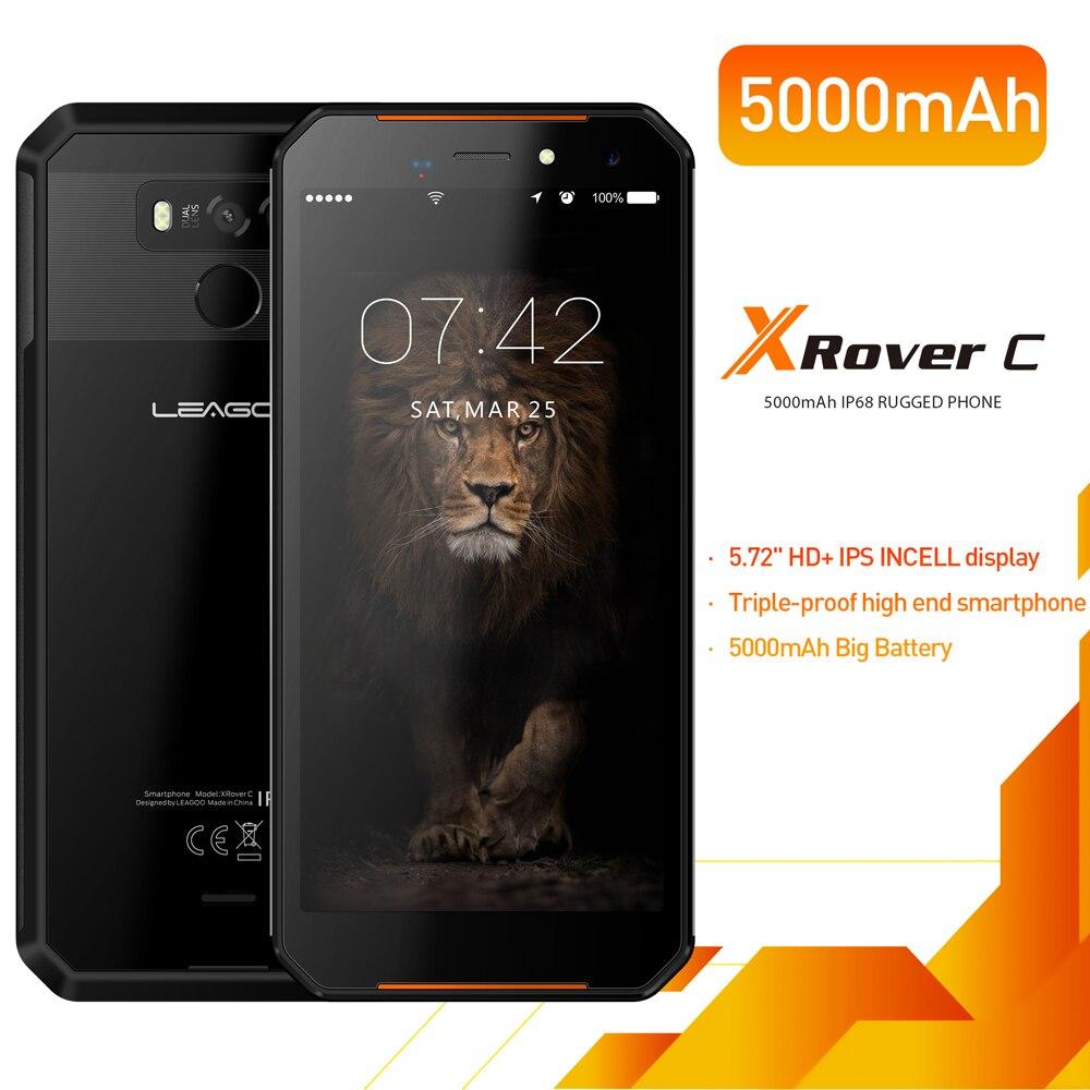 Фото. LEAGOO XRover C IP68 NFC OTG отпечатков пальцев Face ID 4G 5,72 дюйм ips смартфон 5000 mAh 2 GB