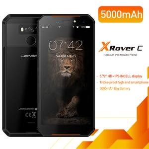 Image 2 - Leagoo teléfono inteligente XRover C, teléfono móvil con identificación facial 4G, pantalla IPS de 5,72 pulgadas, batería de 5000mAh, 2GB RAM, 16GB rom, cámara traseras dobles de 13,0mp, NFC, OTG
