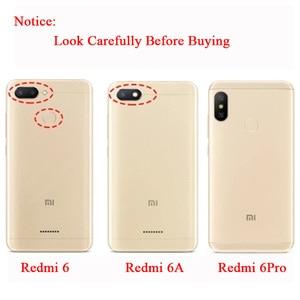 Image 2 - Original MOFi For Xiaomi Redmi 6A Case Redmi 6 TPU Leather Flip Cover Business Case Silicon Protect Luxury For Redmi 6 Pro Case