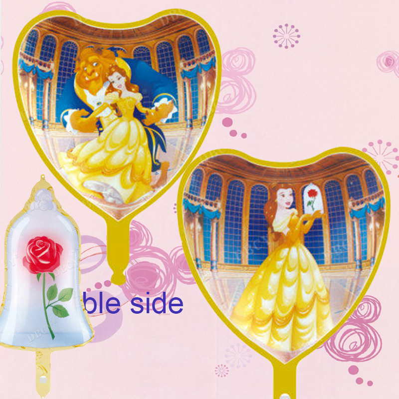 Detail Feedback Questions About Beauty And The Beast Foil Balloons
