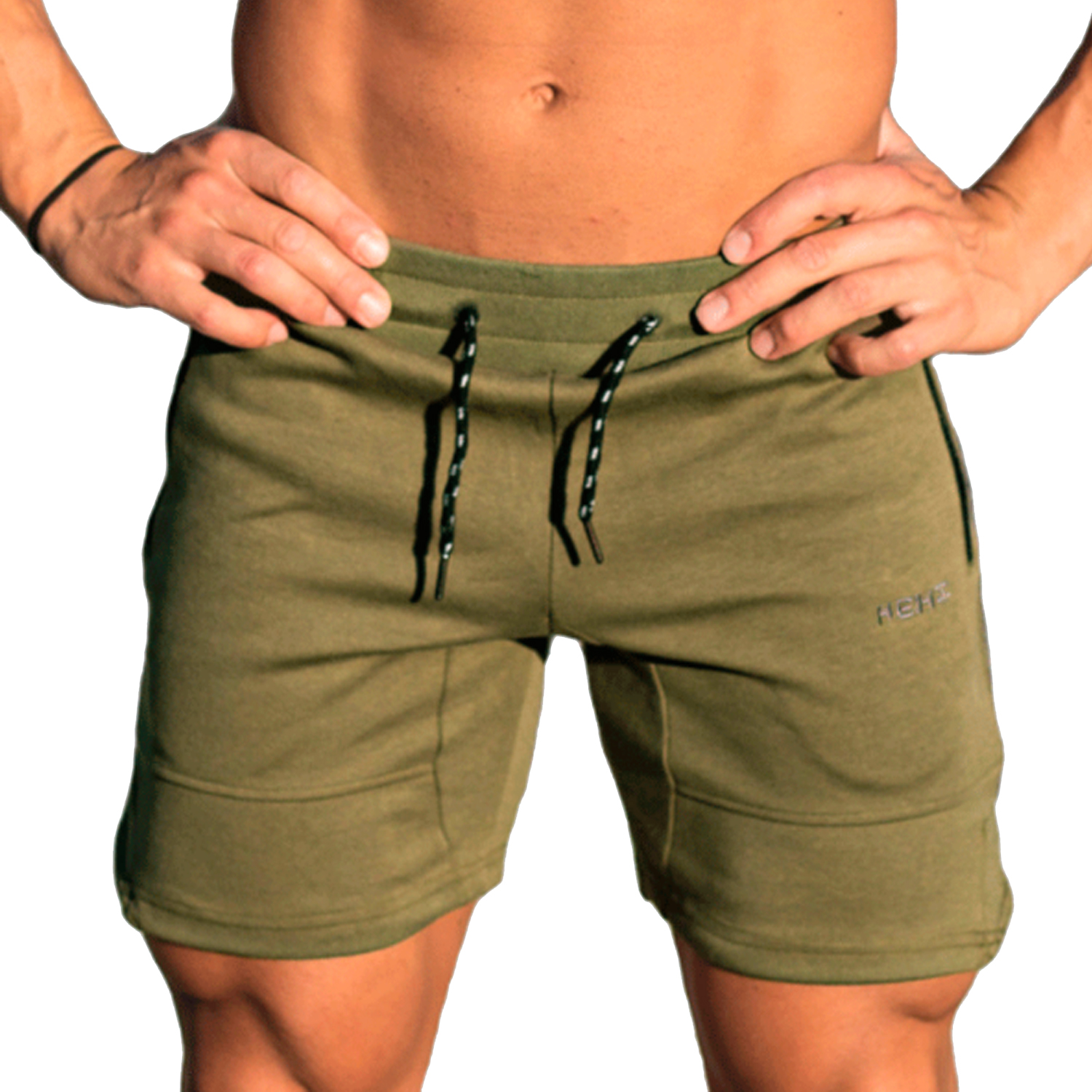 Shorts Mens 2018 Summer Fitness Solid Color Hot Cargo Men Beach Shorts Men Boardshorts MenS Short Casual Fitness FHTY