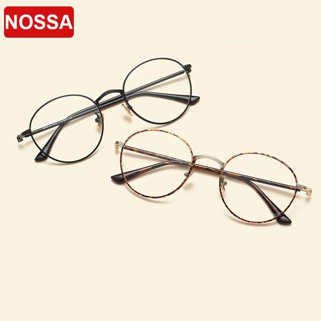 65893bb598e Vintage Students Optical Eyewear Frame Myopia Prescription Eyeglasses Women  Men Spectacles Fashion Trendy Round Glasses Frames