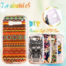 Soft Silicone Phone Cases For Alcatel OneTouch Pop C5 5036 OT5036 5036D one touch pop c5 4.5 inch TPU Gel Phone Case Cover Shell