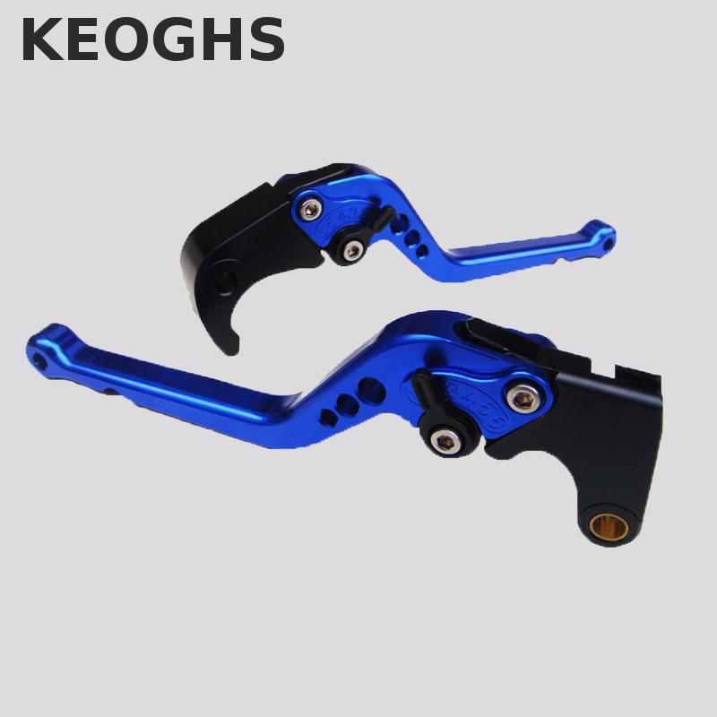 Keoghs Brake Clutch Levers Cnc Aluminum Adjustable 175mm For Honda Cbr1000f 1988-1992 Motorcycle Parts Accessories top new cnc motorcycle brakes clutch levers for honda cbr 600rr 1000rr fireblade sp 2007 2015 accessories free shipping