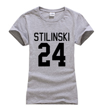Teen Wolf Stilinski 24 Women Cotton T-shirt