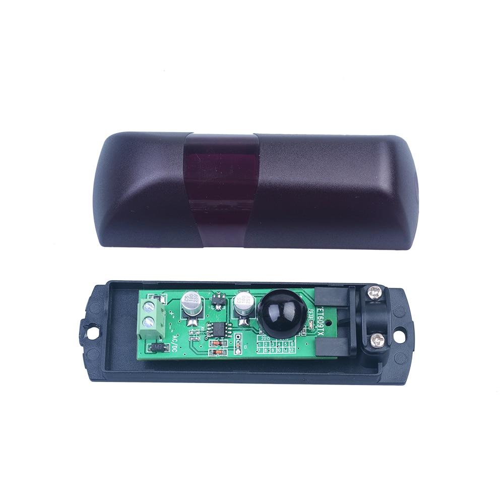 Free shipping cost !!! 30sets Photocell Sensor Beam 12/24 V for Sliding Gate Opener Infrared Safety lpsecurity gate opener barrier beam sensor infrared photocell gate