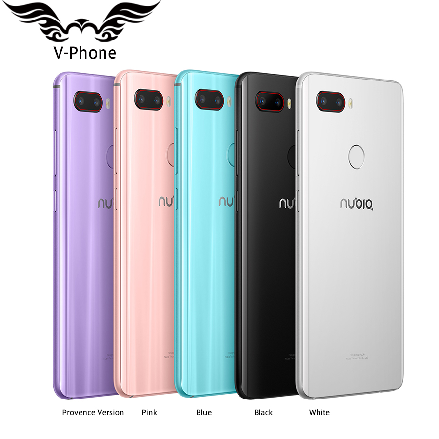 "New Original Nubia Z18 mini Mobile phone 5.7"" 6GB RAM 128GB ROM Octa Core 24MP Dual Rear Camera FHD Full Screen Nubia Z18mini"