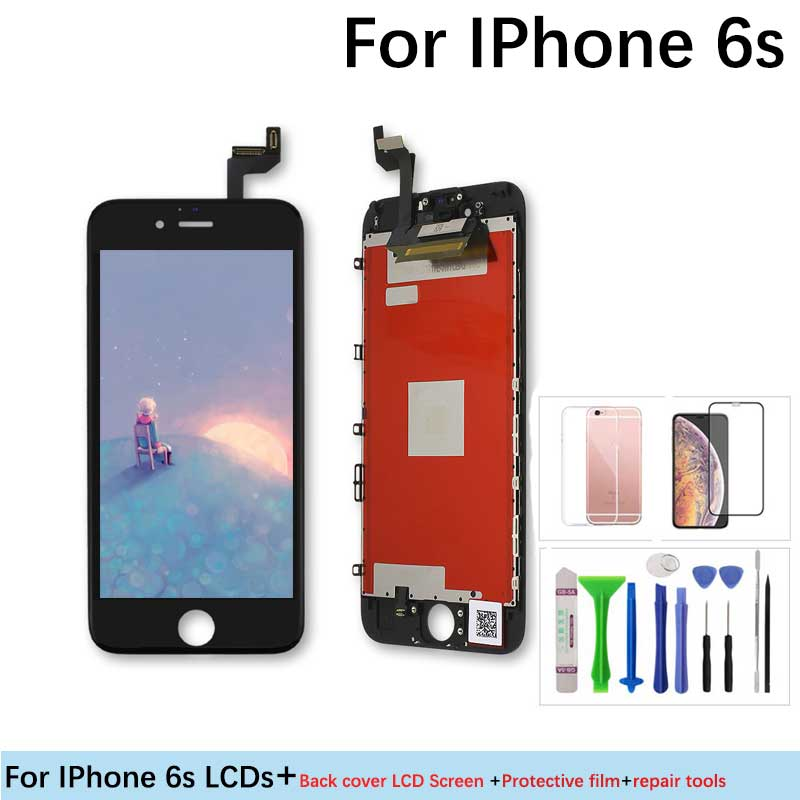 Lcd Replacement Screen Digitizer Assembly Display With 3D Force Touch screen Grade AAA+++ Quality for IPhone 6s lcd