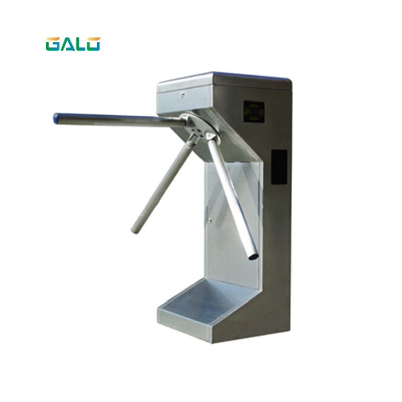 GALO Tripod Turnstile Series 304 stainless steel tripod swing turnstile with RFID card for thoroughfareGALO Tripod Turnstile Series 304 stainless steel tripod swing turnstile with RFID card for thoroughfare