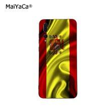 Флаг Испании лента Карандаш Чехол для телефона для huawei P20 P30 P10 плюс P9 Коврики 10 lite 20 pro Honor вид 10 Y7 prime Y9 Enjoy9