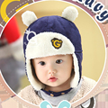 New Fashion Winter Unisex Hats Lovely Cotton Baby Hats Colorful Warm Infant Caps Baby Clothing Baby Accessories Free Shipping