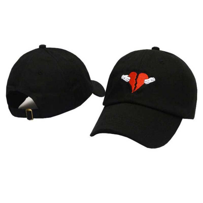 Kanye west Heart break album tata kapelusz czapka bejsbolówka nowe mody wysokiej jakości haftowana bawełniana czapka baseballowa mężczyźni kobiety kapelusze