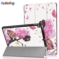 Fashion Girl Painted Leather Case For IPad 9 7 Pro 10 5 Inch 2017 Flip Smart
