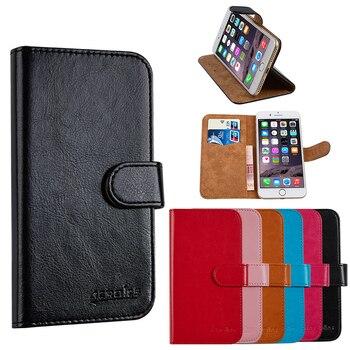 Перейти на Алиэкспресс и купить Роскошный кожаный кошелек для BLU Studio X8 HD 2019 S532L S532V S532U, чехол для мобильного телефона с подставкой и держателем для карт, винтажный Чехол