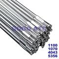 Прямая сварочная проволока из алюминиевого сплава, 1 кг, чистый алюминий, сварочная проволока 1100 1070 4043 5356, алюминиевая, силиконовая, магниева...