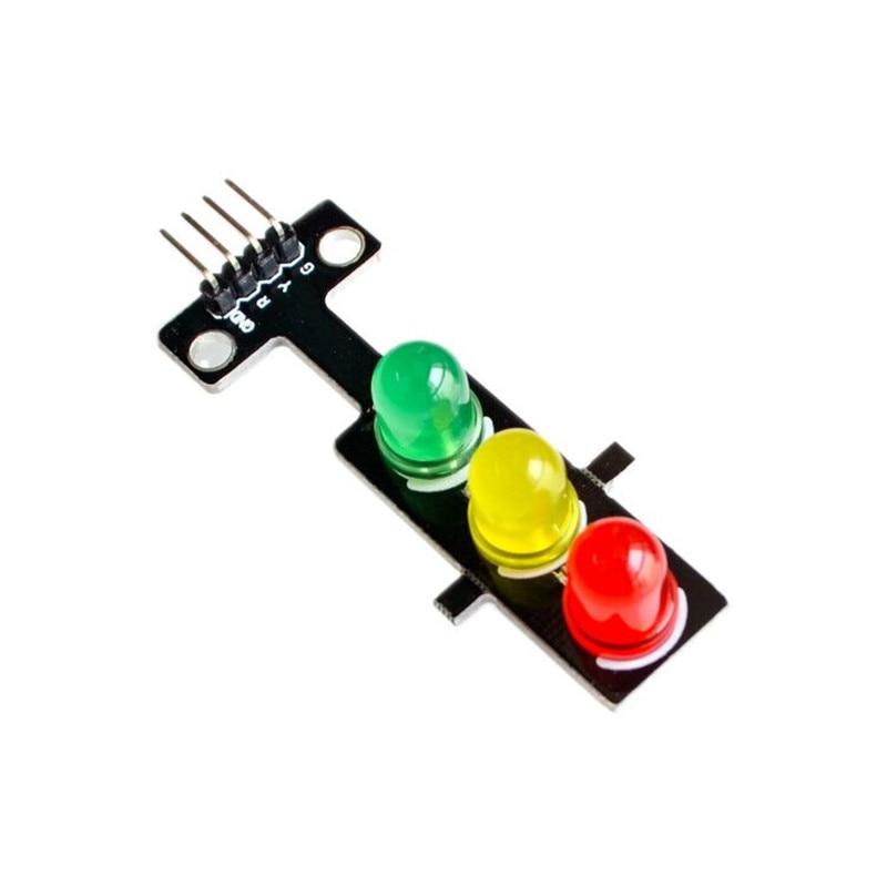 5pcs/lot LED traffic signal module 5V traffic light Light emitting module nrduino