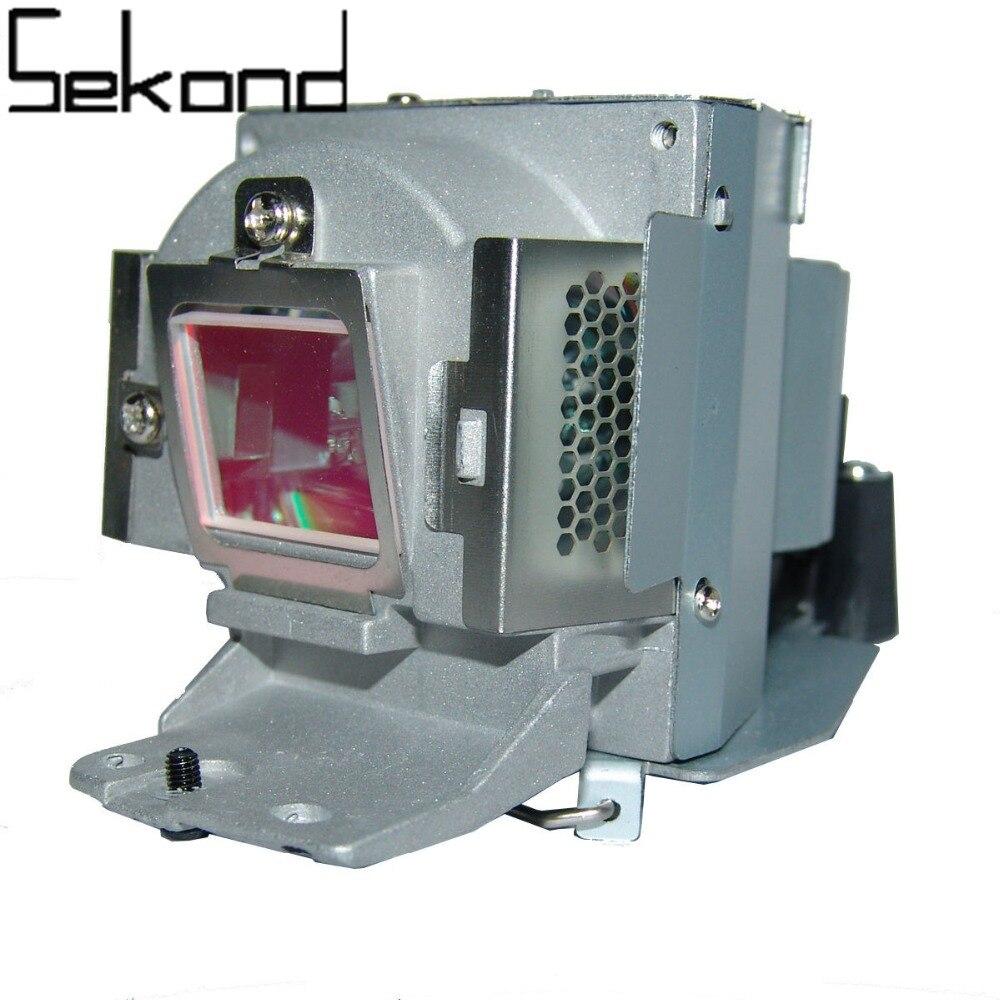 WoProlight Original Projector Lamp Bulb 5J.J9W05.001 / VLT-EX240LP with housing for BENQ MW665 replacement lamp bulb with housing vlt xd206lp for md307x md307s xd206u sd206u sd206